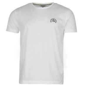 SoulCal Mens Gents Block Yarn Dye T-Shirt Short Sleeve Crew Neck Clothing SALE