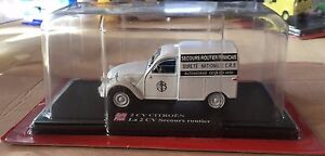 DIE-CAST-2-CV-CITROEN-034-LA-2-CV-SECOURS-ROUTIER-034-SCALA-1-43-AUTO-PLUS