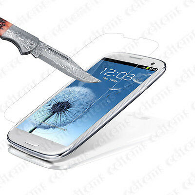 Tempered Glass Protector Screen Film for Samsung Galaxy S4 S5 S6 Note 3 4 5 Lot