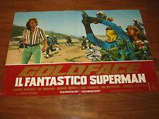 FOTOBUSTA 1967,Goldface Il fantastico superman,Bitto Albertini,Santoni ,Marandi,