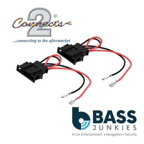 Mercedes Benz CLK Upto 2014 Car Speaker Adaptor Plug Lead Connectors Cable