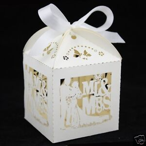Image Is Loading NEW Luxury Wedding Sweets Favour Boxes Favours