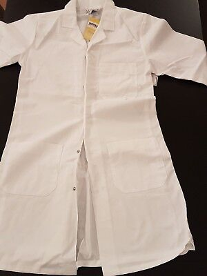 Portwest  White Small Lab Coat Standard Fortis fabric pockets