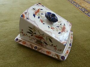 Antique-Large-porcelain-cheese-wedge