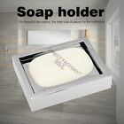 Washing Shower Soap Silver Dish Holder SS304 Tray Wall Mounted Square Bathroom