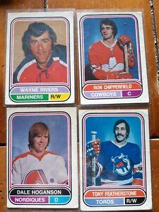 Lot-of-4-75-76-opc-WHA-hockey-cards