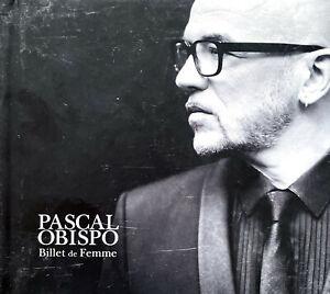 Pascal Obispo CD Billet de Femme - France
