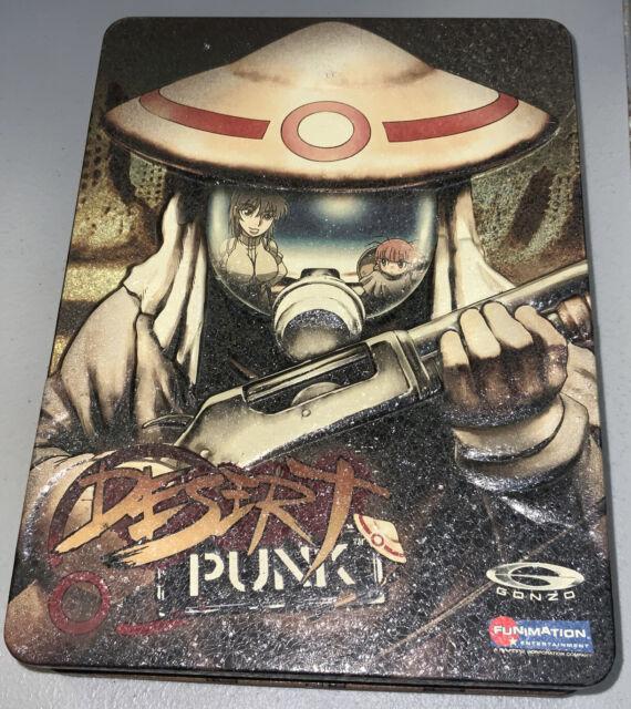 Desert Punk Volume 1,2,3,4,5,6 Complete 6-DVD Tin Box Set Anime Manga