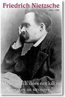 Friedrich Nietzsche - Famous Philosopher Quote Poster