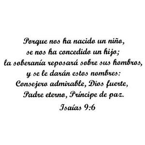 Christmas Bible Verse.Details About Isaiah 9 6 In Spanish Unmounted Rubber Stamp Religious Christmas Bible Verse 21