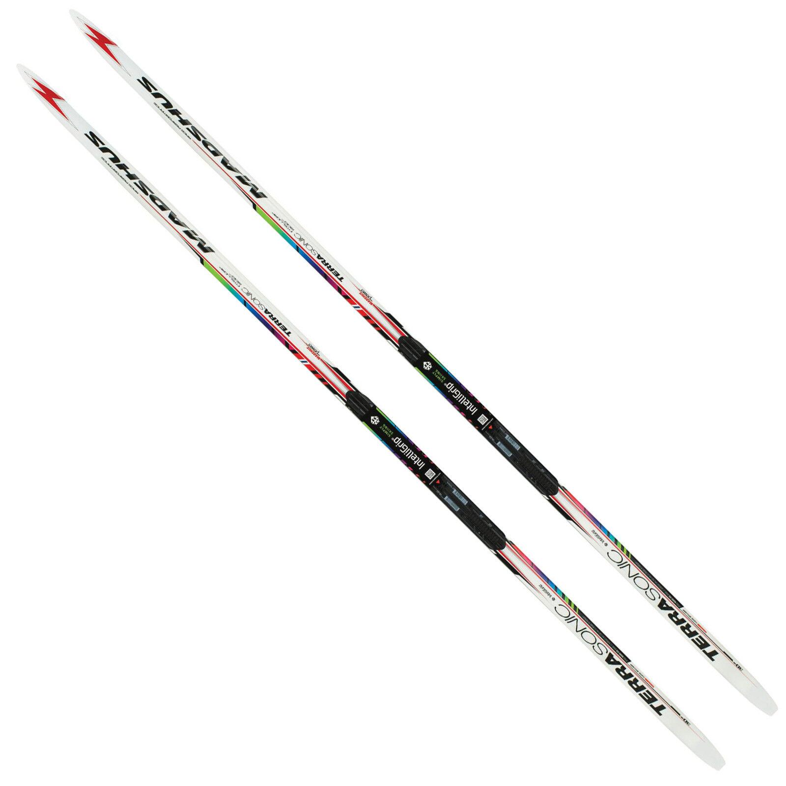 Madshus Terrasonic Intelligrip Unisex-Langlaufski klassischer Langlauf Ski NEU