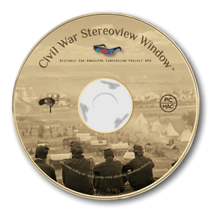 CIVIL WAR STEREOVIEW 3D ANAGLYPH CONVERSION DVD