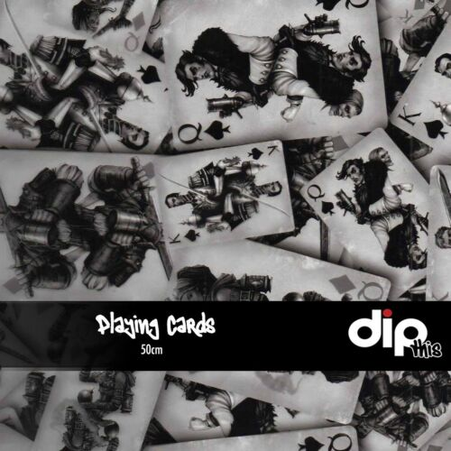 Hydrographics Film 50cm Hydro Dipping ROLLED Playing Cards