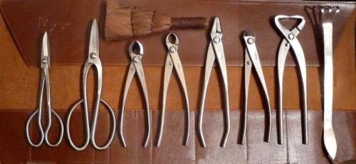 RYUGA Bonsai Werkzeug Set 10-teilig EDELSTAHL Japanqualität  #1