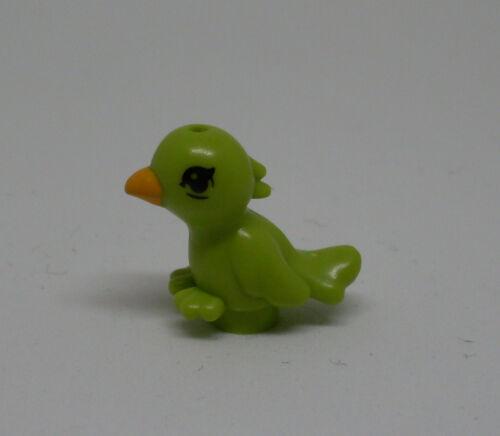 Lego Vogel grün Friends green Tiere Vögel Neu Papagei Schnabel orange
