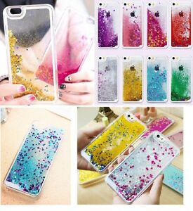 Dynamic-Quicksand-Glitter-Heart-Liquid-Hard-Phone-Case-Cover-For-iPhone-Samsung