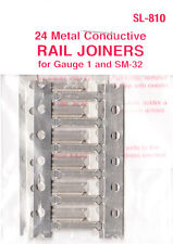 PECO SL-810 Fishplates x 24 (Track Joiners) for Gauge 1 & SM-32 Track 1st C Post