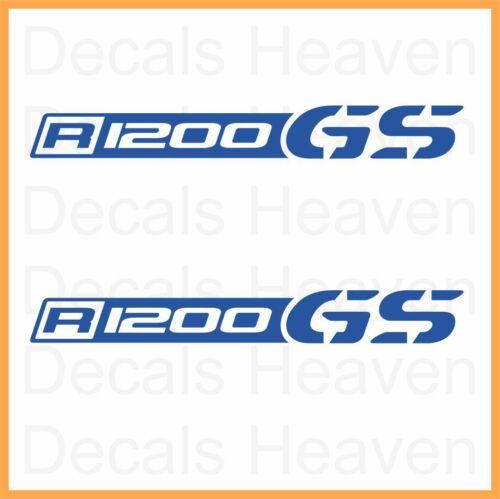 "BMW R1200GS 2pcs Logo /""Beak/"" Stickers R 1200 GS Decals M#1"
