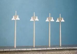 Ratio 454 Concrete Lamp Standards (Plastic Kit) OO