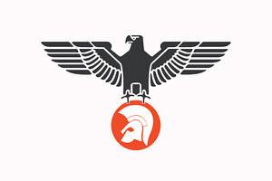 Trojan Eagle decal sticker mod northern soul ska 2 tone scooter LI TV SX GP PX