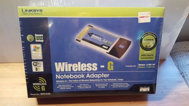 LINKSYS WPC54G WIRELESS G DRIVER FOR WINDOWS 7