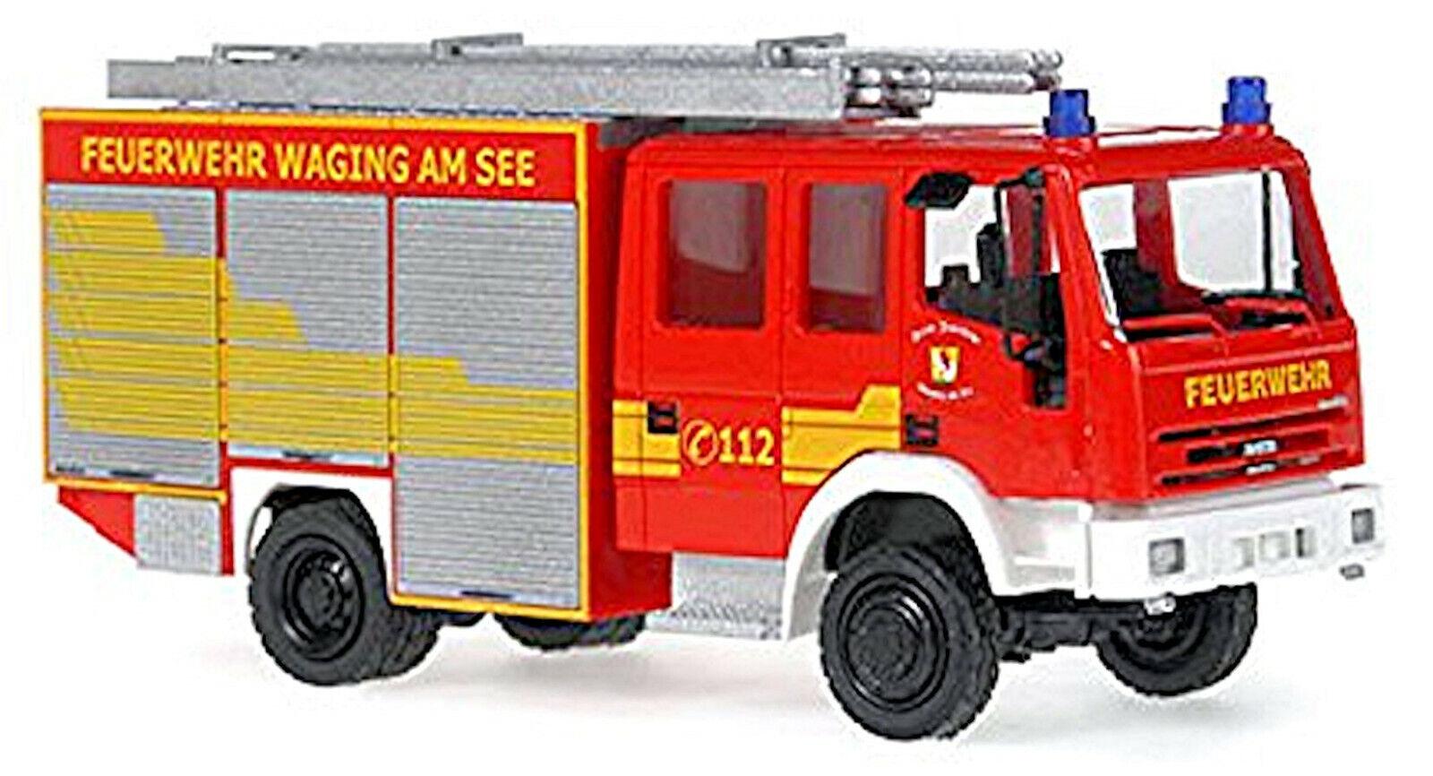 Iveco Magirus Eurofire Tlf 16 25 Fire Brigade Waging Am See 1 87 Rietze 60697