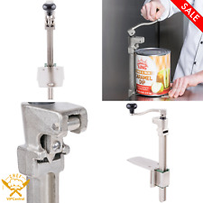 Commercial Light Duty Manual Can Opener With Base Table Mounted Restaurant New
