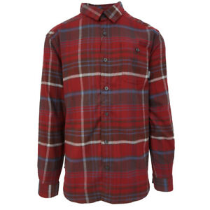 Columbia-Men-039-s-Red-Element-Cornell-Woods-L-S-Flannel-Retail-60