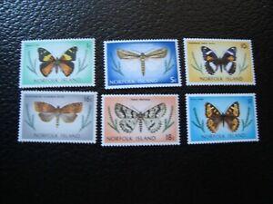 Norfolk-Sello-Yvert-Tellier-N-180-184-85-187-189-195N-MNH-A41