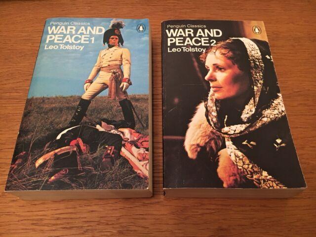 Penguin Classics - Leo Tolstoy - War And Peace 1 & 2 (2 Books)