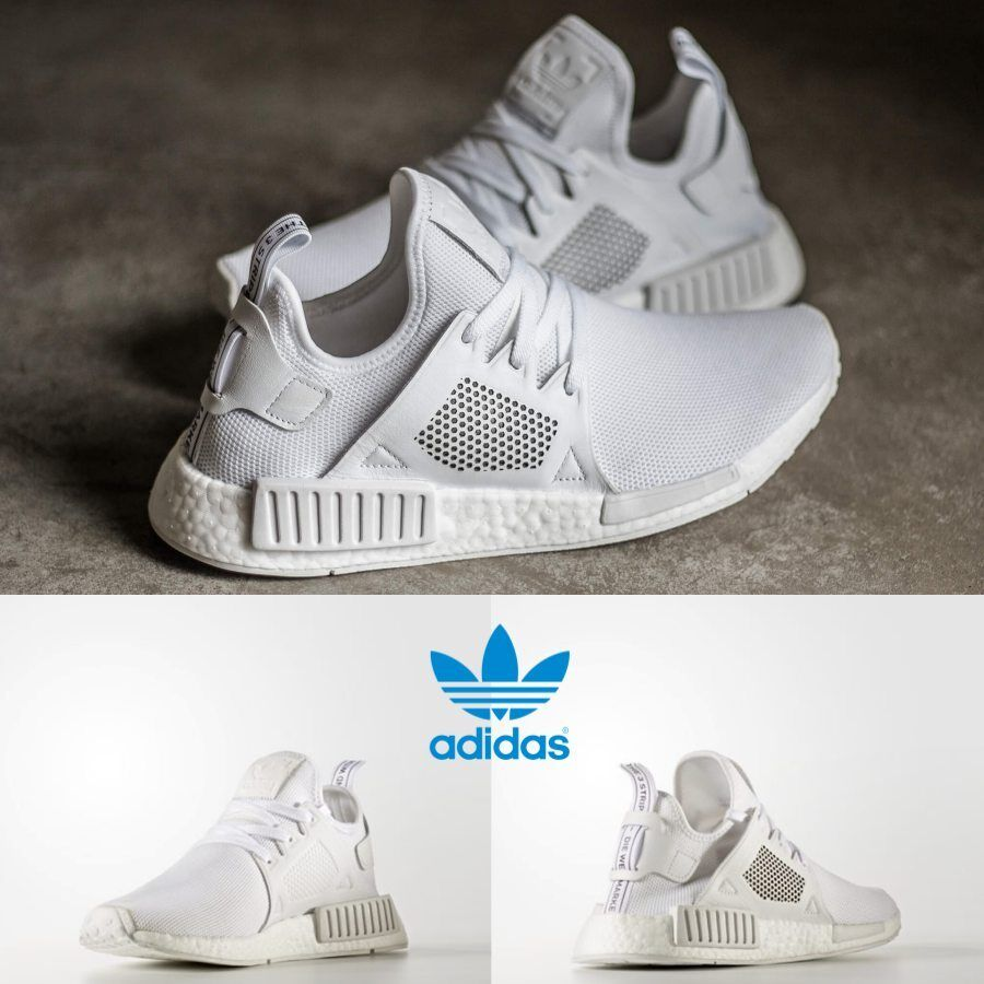 a85122fb913a2 Adidas Unisex Original NMD XR1 Runner White White White BY9922 Size 4-11  Limited. black