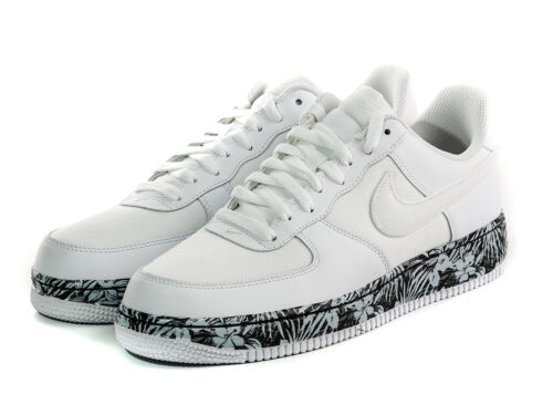 1 15 Canvas gt;uk Mens Floral Nike Sole Low Adult Trainers Air Force 17 Leather Pq8UwE7
