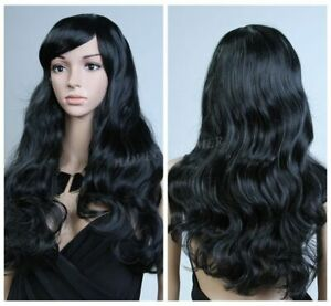 For-Womens-Girls-Wavy-Curly-Long-Hair-Full-Wigs-Cosplay-Party-Wig-US-Stock-New