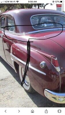 1953 1954 CHRYSLER DESOTO LEFT FLOOR PAN ACCESS PANEL  NEW