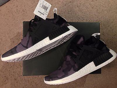 huge discount 0eb85 5d4ae adidas NMD XR1 Primeknit Duck Camo Black BA7231 size 12   eBay