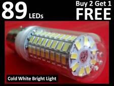89 LED Light Bulb B22 Bayonet Cap Cold Bright White Light - Energy Efficient