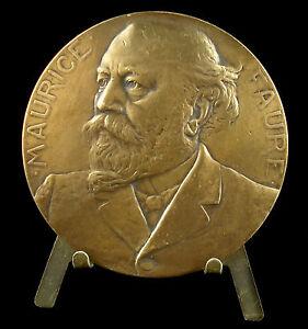 Medaille-Maurice-Louis-Faure-Senateur-Academie-Francaise-1906-G-Prud-039-homme-medal