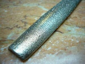 250mm THK Diamant Halbrund feilen Splitt 60 grober Körnung Stein Marmor feile