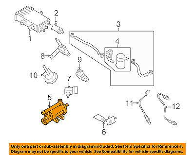 2009 hyundai evap diagrams hyundai oem 06 14 sonata vapor canister purge valve 2891025100 ebay  14 sonata vapor canister purge valve