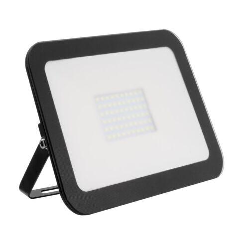 Exterior IP65 10W 30W 50W LED Black Security Flood Light Spot Light White 6500K