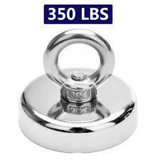 350 Lbs Fishing Magnet Pull Force Heavy Duty Strong Neodymium Diameter 67mm