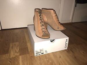Size 5 5 Sevilan Aldo Heels Brown wBqUpp7