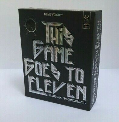 Gamewright This Game Goes To Eleven 8+ The Card Game That Cranks It Past Ten