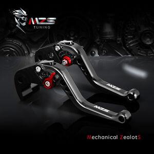 Mzs Short Clutch Brake Levers For Kawasaki Zx6r636 07 2017 Z1000sx