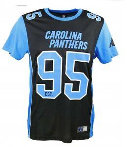1594c0b1 Carolina Panthers NFL Poly Mesh T Shirt 13 14 Years Youth Kids ...