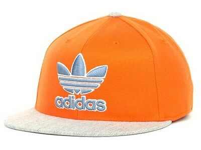 "Adidas ""Phoenix Flex Cap"" Hat $30 Orange and Gray"