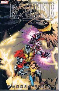 Excalibur-Visionaries-Warren-Ellis-Vol-2-Pacheco-amp-Weiringo-2010-TPB-Marvel-OOP