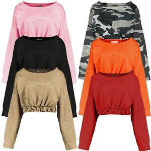 New-Ladies-Gypsy-Sweatshirt-Jumper-Tops-Pullover-Tops-8-14