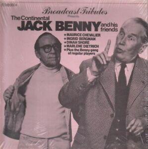 LP-Jack-Benny-Maurice-Chevalier-Ingrid-Bergman-The-Continental-Jack-Benny