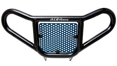 Raptor 350  All Years  Front Bumper Black /& Blue Screen  Alba Racing  209 M2 BL